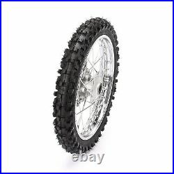 12mm 60/100-14 Front & 80/100-12 Rear Wheel Tire Rim With Disc Brake Assembly