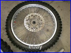 1999 Yamaha YZ 400 F YZ400 YZ400F Front Wheel with Disc with Kenda Tire