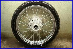 2016 HONDA REBEL CMX250X FRONT WHEEL TIRE PACKAGE With ROTOR DISC