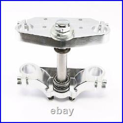 33mm Front Forks Triple Tree Clamp with 14 in Front Wheel Tire Rim Disc Pit Bike