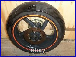Aprilia Rsv Millie 1000r Brembo Back Wheel With Good Tyre, Sprocket And Disc
