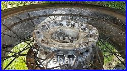 BMW R1150GS R1100GS REAR back wheel with disc and nearly nee tyre needs a polish