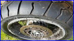 BMW R1150GS R1100GS REAR back wheel with disc and nearly new tyre needs a polish