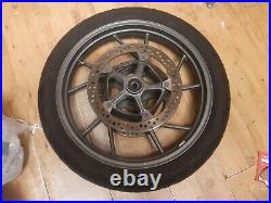 BMW R1200GS LC ADVENTURE 2013on FRONT WHEEL WITH BRAKE DISCS & TYRE R1200 GS