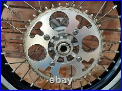 Beta Rear Trials Bike 18 Wheel 2010 with Sprocket, Disc and Tyre