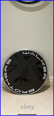 Disc Wheel Carbon Walker Brothers Brand New Continental GP5000 23mm Tyre