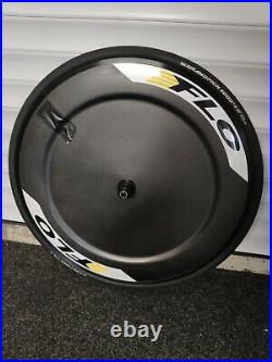 Flo Alloy Clincher TT / Time Trial Disc Wheel + GP4000 SII 25mm tyre