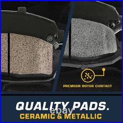For Excursion F250 F350 Super Duty 4WD RWD Rear Brake Calipers And Ceramic Pads