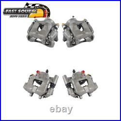 Front And Rear Brake Calipers For 2005 2006 2007 2008 2009 2010 Scion TC