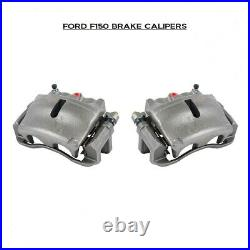Front Brake Calipers Pair For Ford F150 Lincoln Mark LT 2004-2008