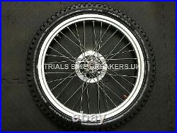 Gas Gas Sherco Trs Montesa Montesa Etc Trials Front Wheel With Disc & Tyre