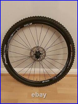 Gravel Wheel Front DT Swiss X1900 27.5 + Conti 1.8 Tubeless tyre + 160mm Disc