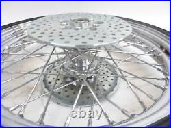 HARLEY DAVIDSON FRONT WHEEL with TIRE SPOKED DISC BRAKE 90 90 19
