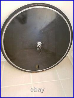 HED Carbon Disc 700C Tubular Rear Wheel with Tire