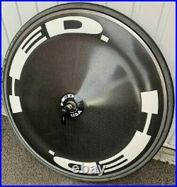 HED Clincher Disc Wheel 11 speed with cassette, latex tube, Corsa Speed tyre