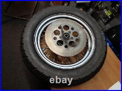 Harley-Davidson Softail Rear Wheel 16 & Rear Disc with Tyre 140/90x16, Spoked