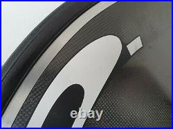 Hed Jet C2 disc wheel with New Vittoria Corsa Speed G2.0 tyre & new latex tube