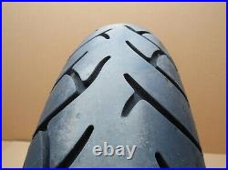 Honda SH300i 2020 8,717 miles rear wheel with tyre and disc (4946)