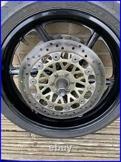 Honda VFR750 RC36 1994-1997 Front Wheel Including Discs, Tyre And Axle