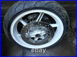 Honda Vfr 750 Vfr750 Rc36 Rc36 90-97 Front Wheel With Discs Tyre