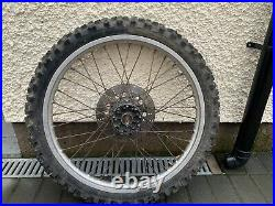 Kawasaki Kmx 21 Front Wheel Complete With Tyre Disc And Spindle