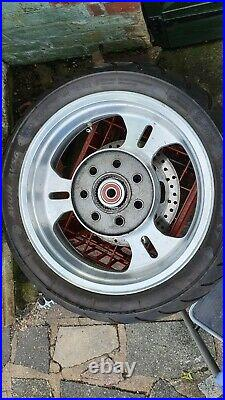 Kawasaki VN 1500/1600 Meanstreak rear wheel with disc and tyre