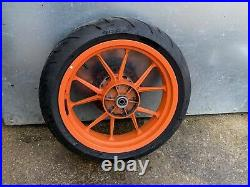 Ktm Rc125 Rear Wheel Tyre And Disc From A 2015 Model #1
