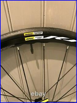 Mavic Ksyrium Disc Front Wheel with Yksion Elite Tyre, Brand New With Tags