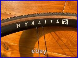 Rolf Prima Hyalite Carbon Gravel Disc Tubeless Wheel Set with CushCore & WTB Tires