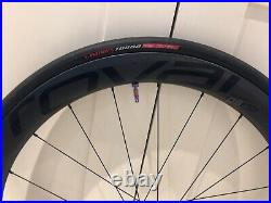 Roval CL50 Rapide disc wheels with Tubeless S-works turbo rapid air 700x28c Tyre