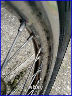 Suzuki Gs 750 Db 1978 Front Wheel New Tyre Disc Hub Used Good Overal Condition