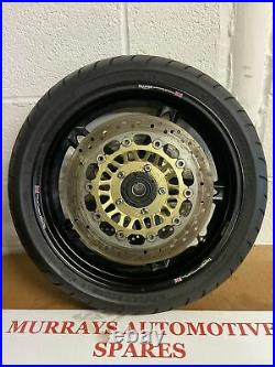 Triumph Sprint St1050 2005 Front Wheel With Tyre And Discs