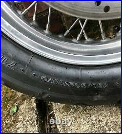 Triumph Thunderbird 900 1995 Complete Rear Wheel And Tyre And Brake Disc