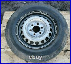 Vw Crafter 16 Steel Spare Disk Wheel With Tyre 7 9 MM Genuine 235/65r16c