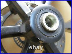 Yamaha MT-125 2019 2,249 miles front wheel with tyre and brake disc (4838)