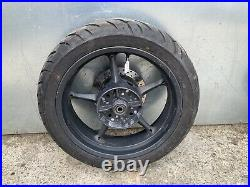 Yamaha Mt03 Rear Wheel Tyre And Brake Disc From A 2006 Model