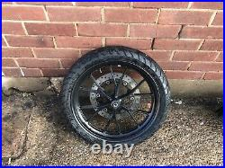 Yamaha R125 Mt125 Complete Front Wheel With Mint Michelin Tyre And Brake Disc