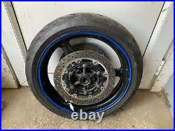 Yamaha R1 Front Wheel Tyre & Brake Discs From A 2001 Model 5jj