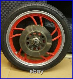 Yamaha RD350LC Front Wheel And Tyre With Discs