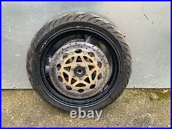 Yamaha Xjr1200 Front Wheel Tyre & Discs From A 1996 Model