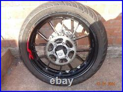 Yamaha Yzf-R 125cc 2015 complete Rear Wheel /tyre+ disk ABS