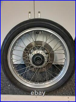 Yamaha xs650 front wheel with disc & tyre